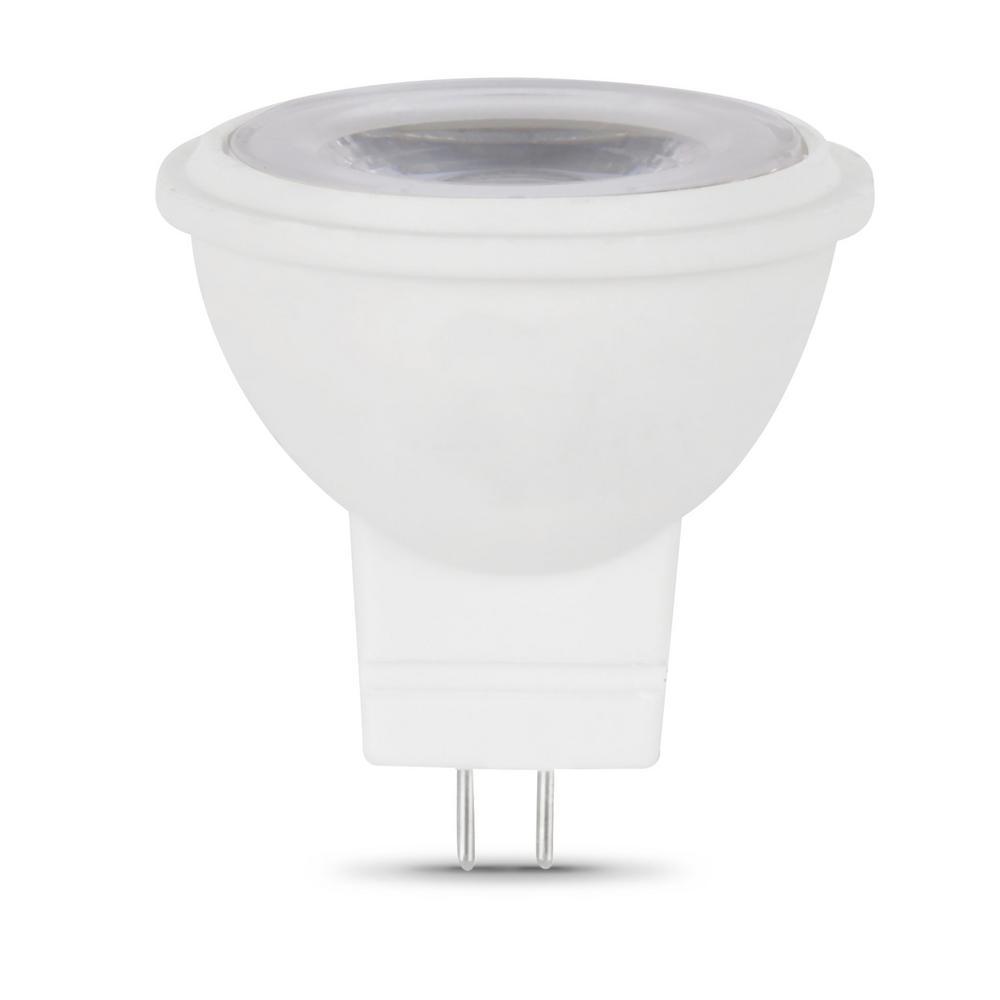 Feit Electric 20-Watt Equivalent MR11 GU4 Dimmable CEC Title 20 Compliant LED 90+ CRI Flood Light Bulb, Daylight