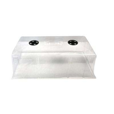 7 in. Propagation Seed Cloning Humidity Dome for Seed Starting Germination Tray (50-pack)