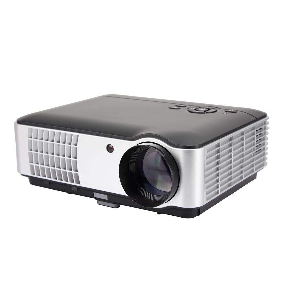 1280 x 800 HD LCD Home Entertainment Projector with 2800-...