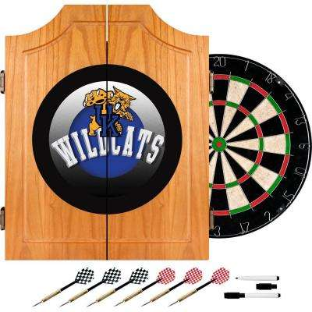 University of Kentucky Honeycomb 20.5 in. Wood Dart Cabinet Set