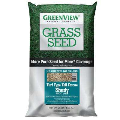20 lbs. Fairway Formula Grass Seed Turf Type Tall Fescue Shady Mixture