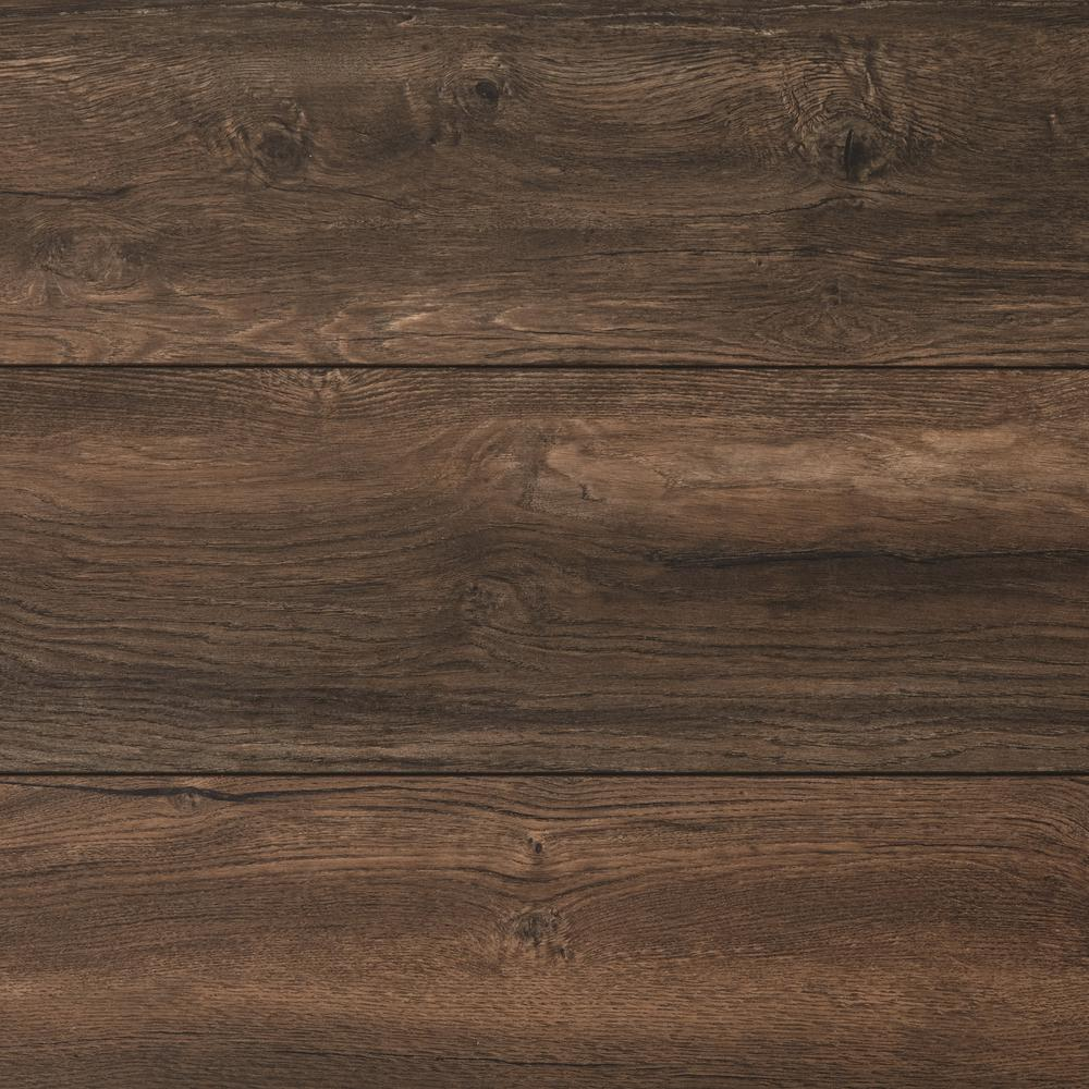 Wood Laminate Flooring Lifting: Home Decorators Collection Mesa Oak 12mm Thick X 7-7/16 In