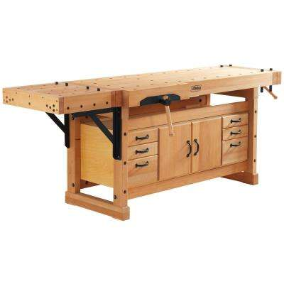 Elite 2500C Plus SM04 98 in. L Workbench Cabinet Combo