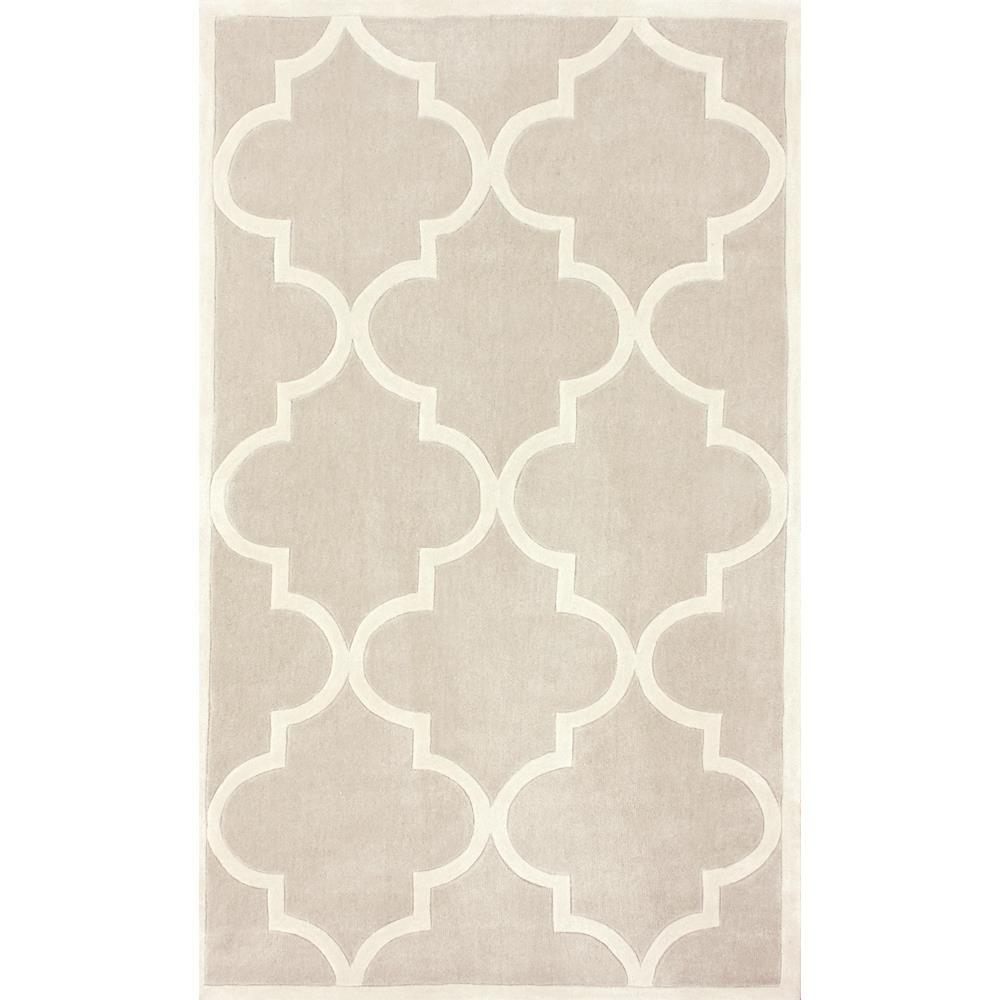Nuloom Fez Neutral 5 Ft X 8 Ft Area Rug Acr129g 508 The Home Depot