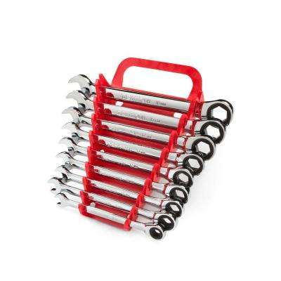 8-16 mm Ratcheting Combination Wrench Set (9-Piece)
