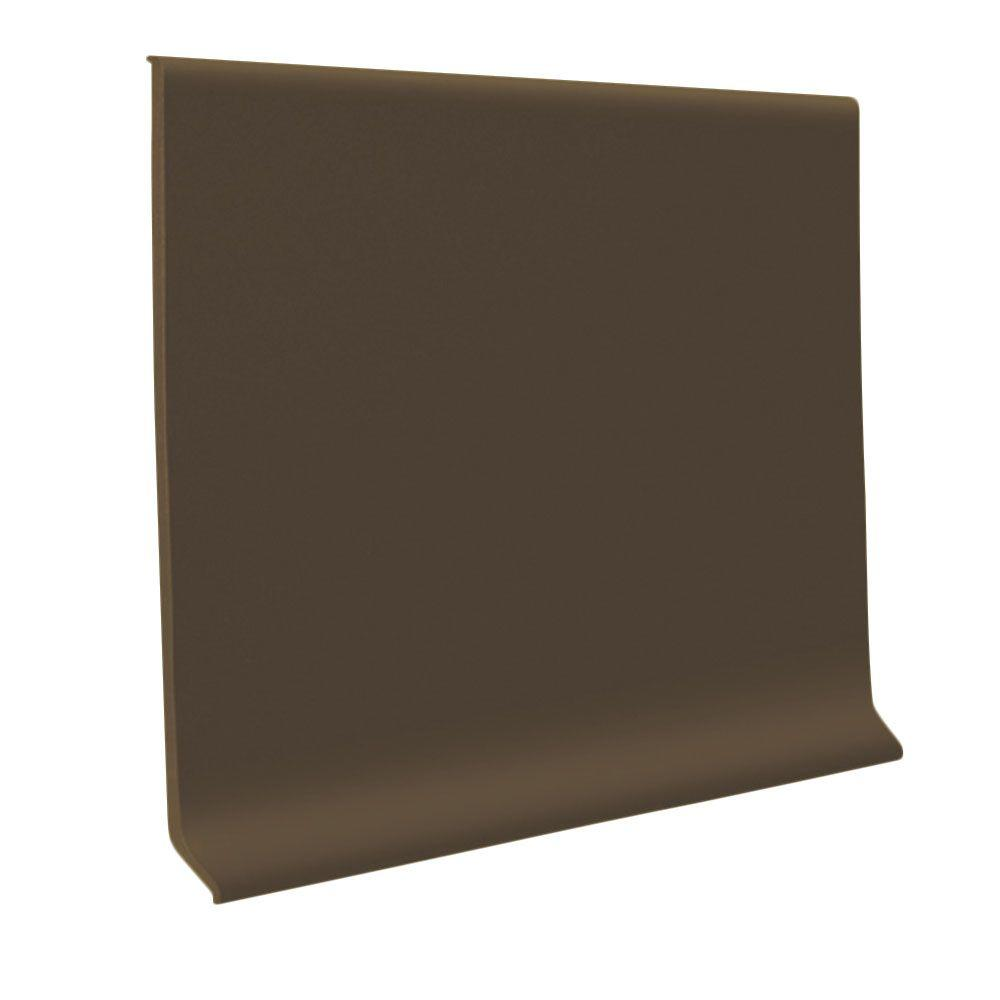Light Brown .125 in. x 4 in. x 48 in. Vinyl