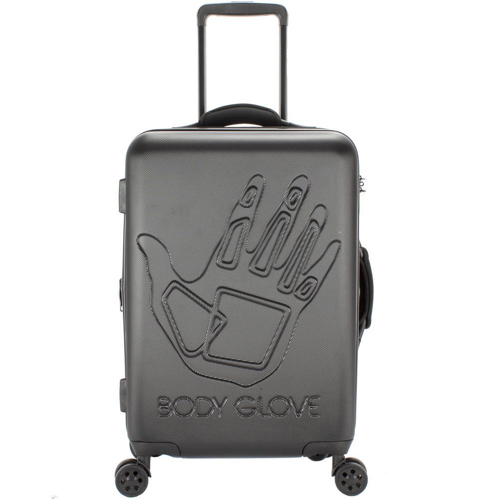Redondo 22 in. Black Hardside Luggage