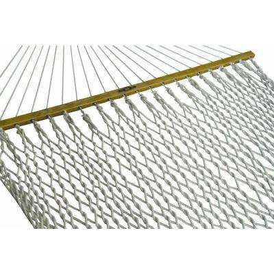 13 ft. Deluxe Cotton Rope Hammock in White