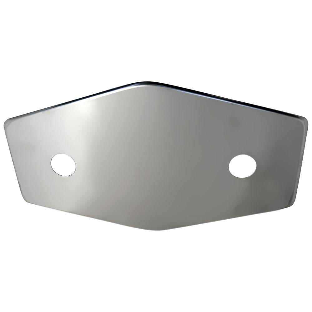 Lincoln 2-Handle Stainless Steel Repair Plate with Mounti...