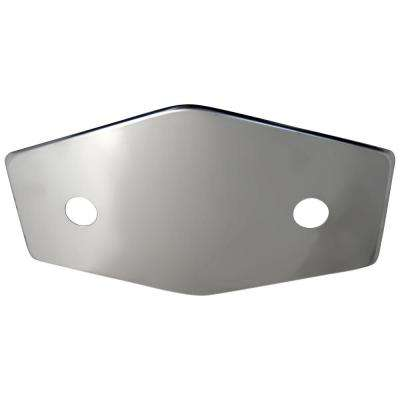 2-Handle Stainless Steel Repair Plate with Mounting Hardware