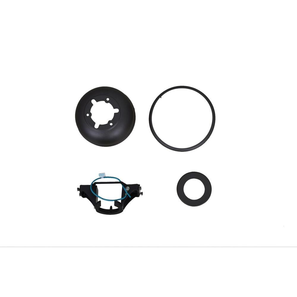 Carrolton II 52 in. LED Oil Rubbed Bronze Ceiling Fan Replacement Mounting Bracket and Canopy Set