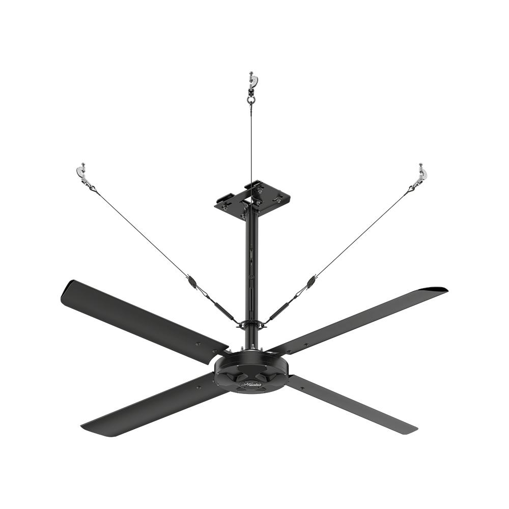 Ceiling Fan Direct Drive : Hunter industrial eco ft volt single pole