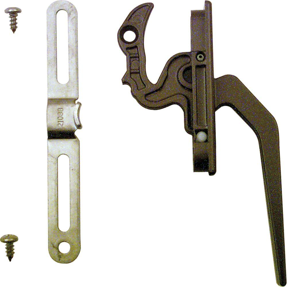 Casement Locking Handle with Keeper Bronze