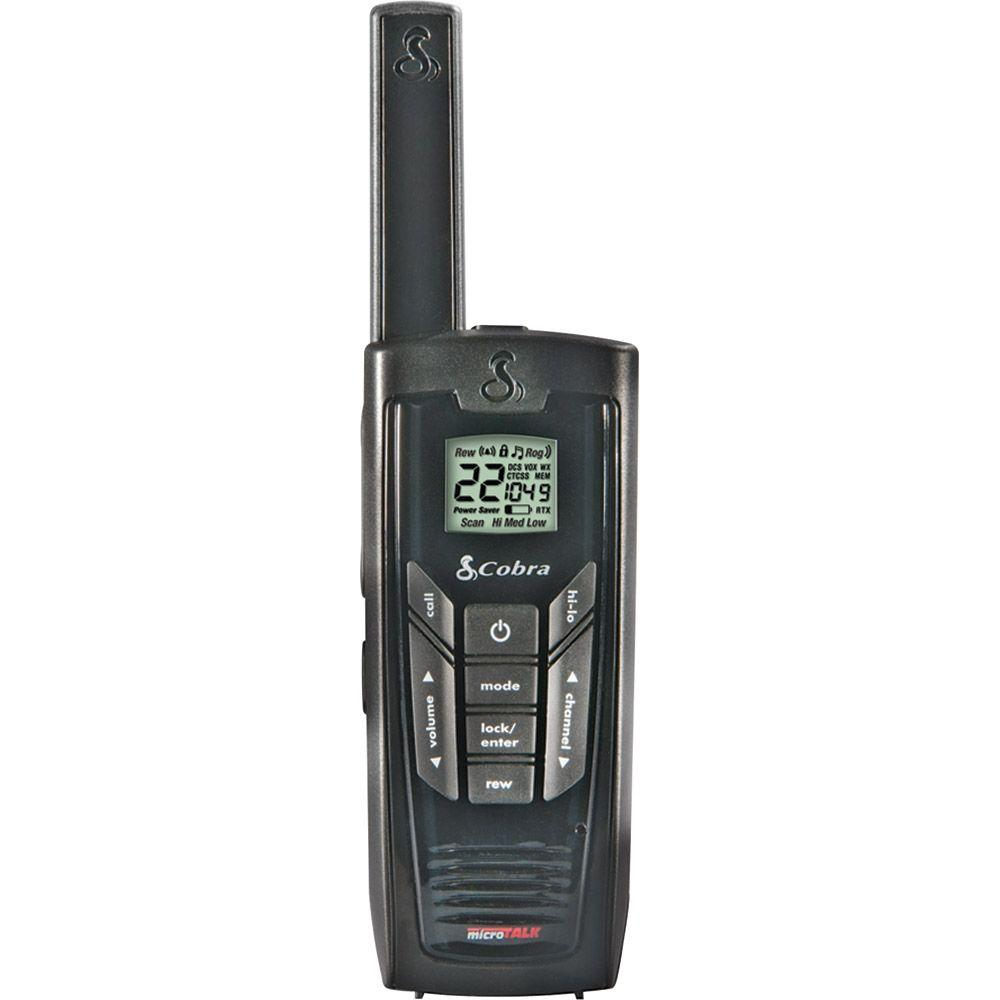 Cobra MicroTalk GMRS/FRS 2-Way 35-Mile 22 Channel Radios (1-Pack)