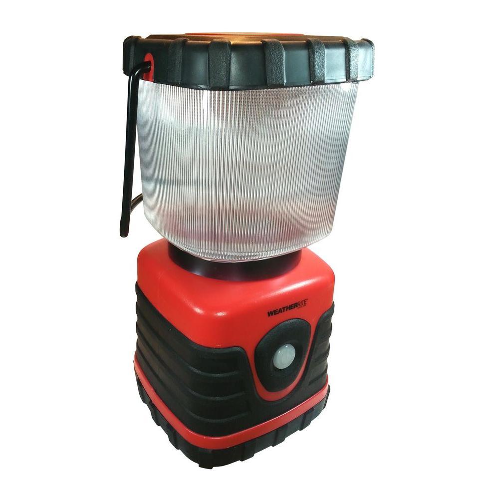 610 Lumen LED Lantern in Red