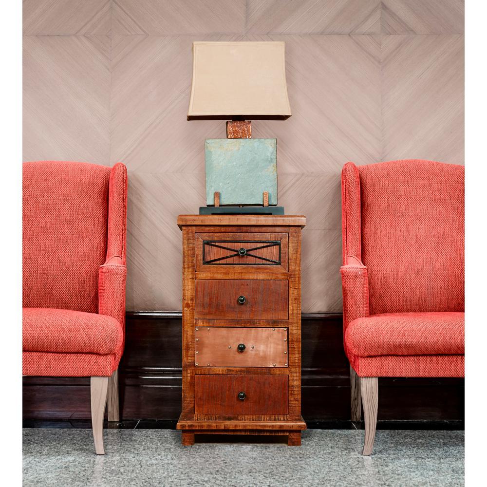 Hillsdale furniture belina 4 drawer deep pine chest 5732 for Furniture 888