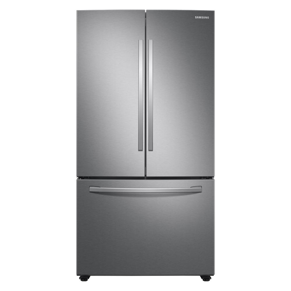 Samsung 28.2 cu. ft. French Door Refrigerator in Stainless Steel-RF28T5001SR - The Home Depot
