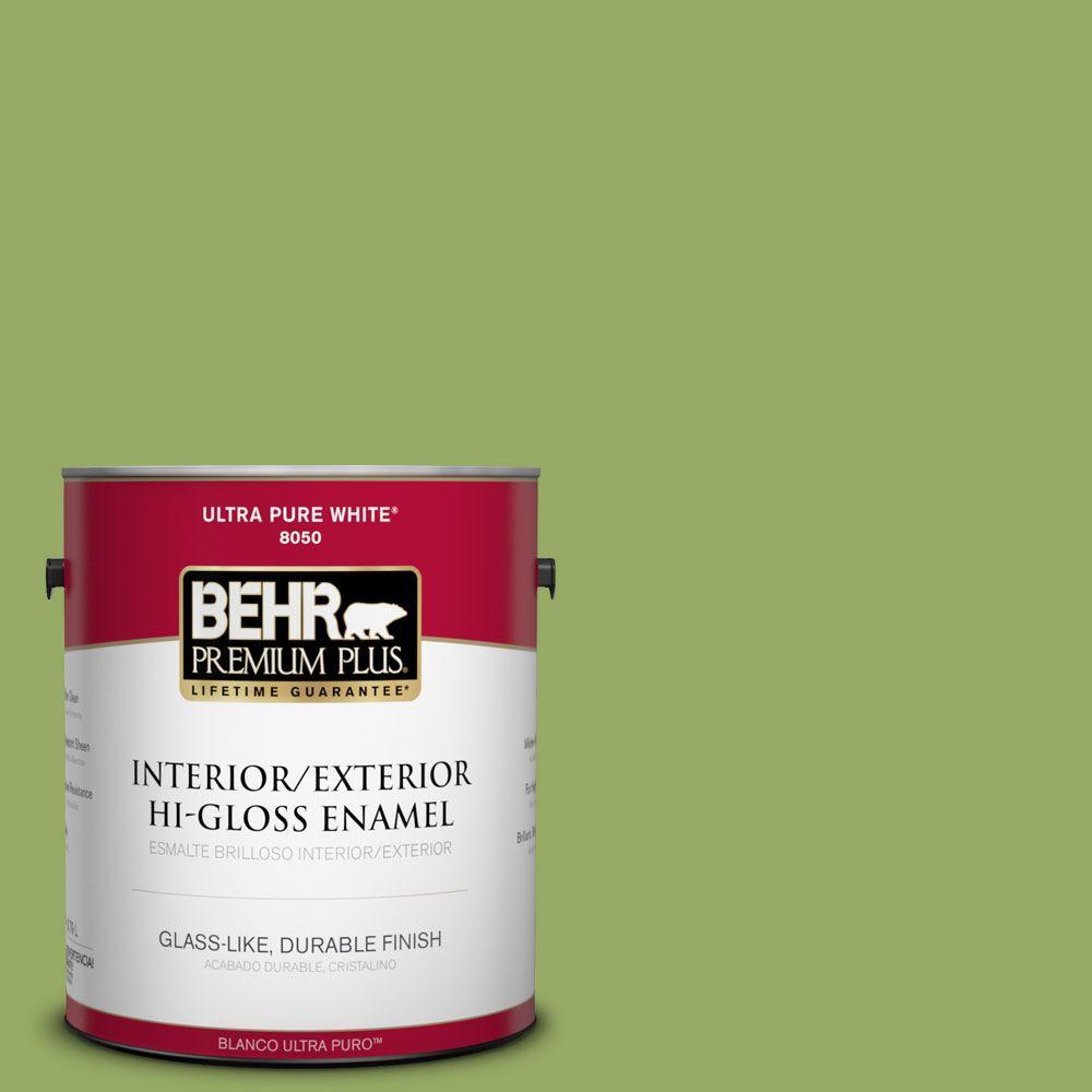 1-gal. #420D-5 Herbal Garden Hi-Gloss Enamel Interior/Exterior Paint