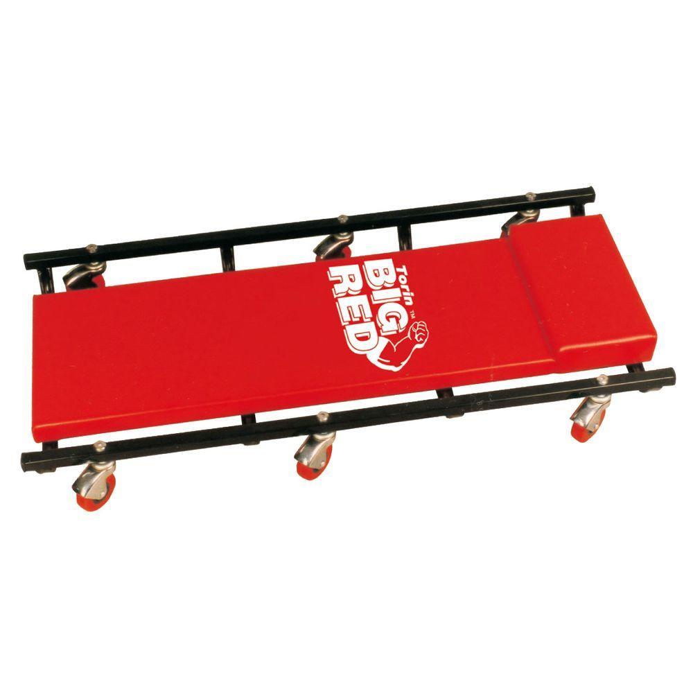 Big Red 250 Lb Capacity 36 In Shop Creeper Tr6451 The