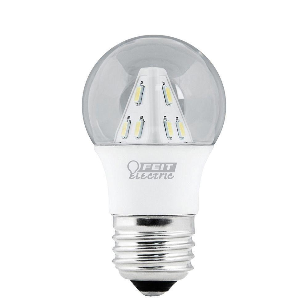 Led Filament Candelabra Bulb 3 6w 40w Equiv Ul Listed: EcoSmart 25W Equivalent Soft White B11 LED Light Bulb (12