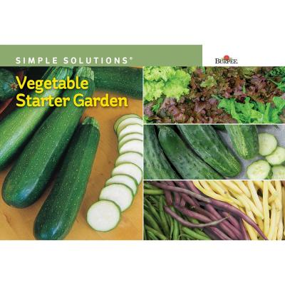 Simple Solutions Vegetable Starter Garden Seed