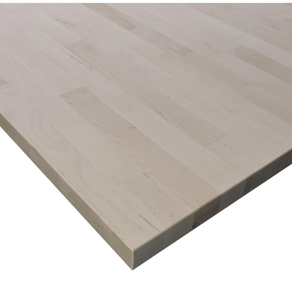 Allwood 1.5 in. x 30 in. x 48 in  Birch Edge Glued Project Panel