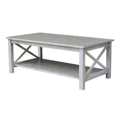 Hampton Weathered Grey Coffee Table