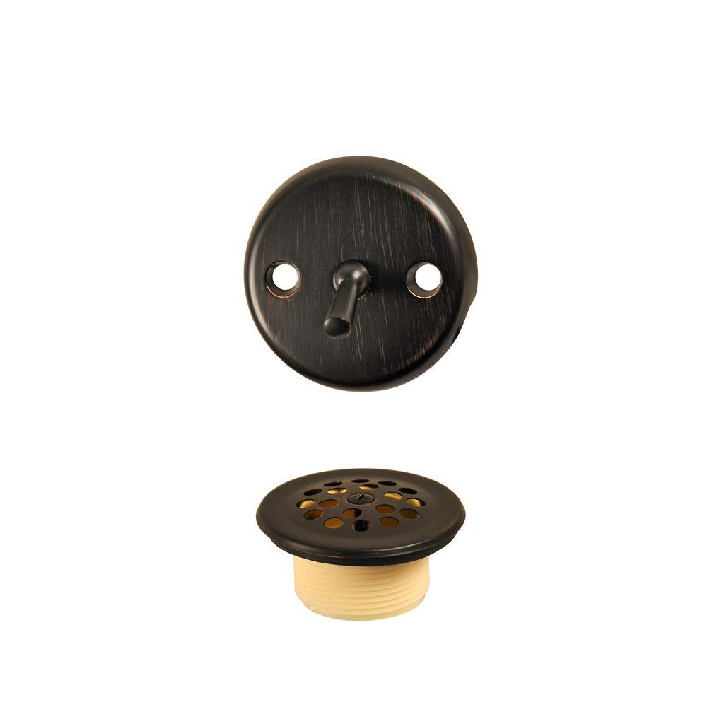 Trip Lever Tub Drain Kit in Oil Rubbed Bronze