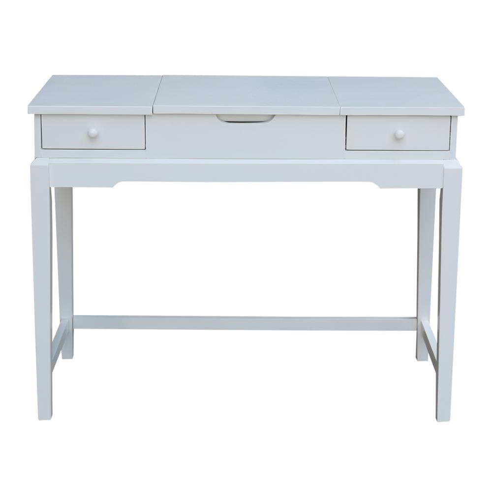 Merveilleux International Concepts Pure White Vanity Table