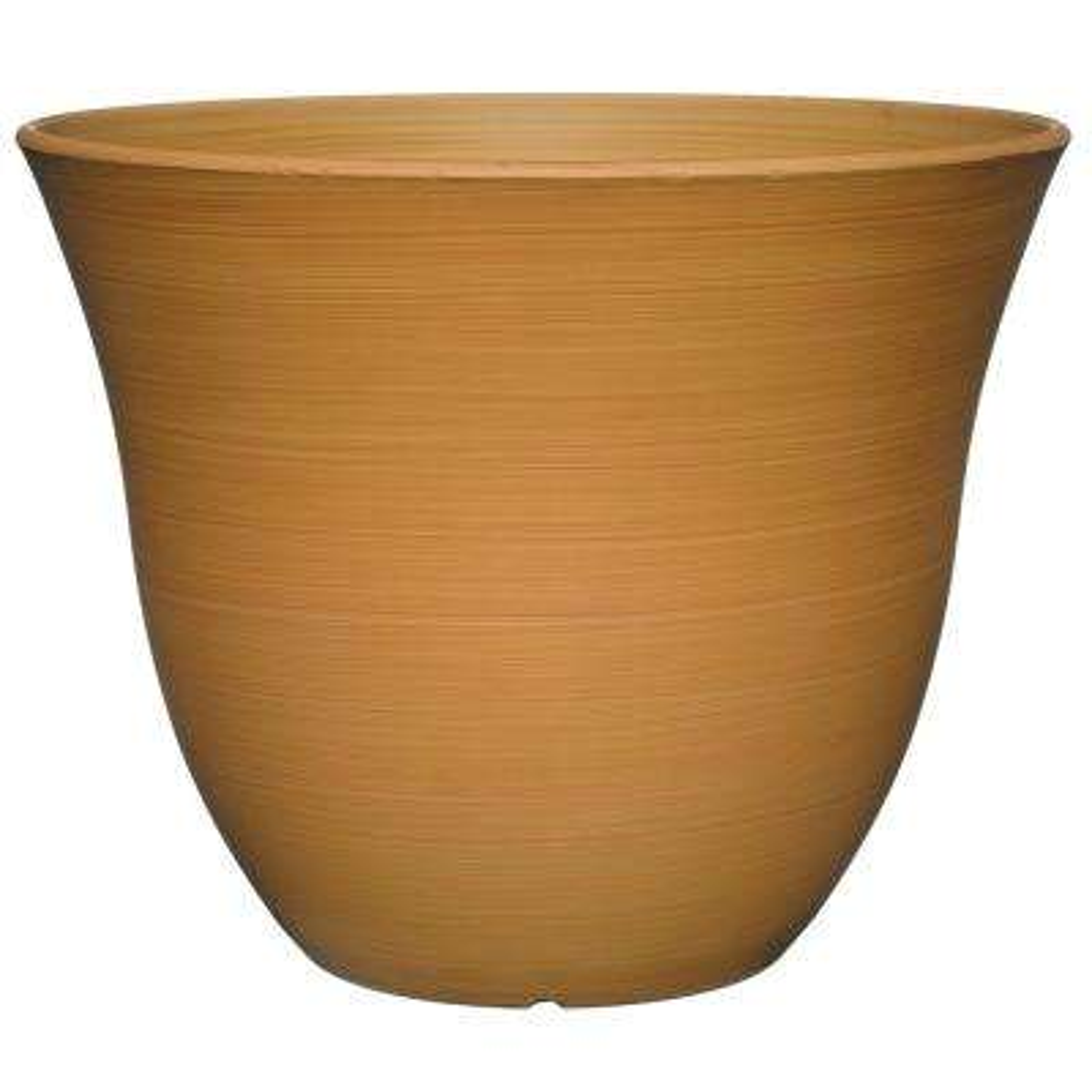 Honeysuckle 13 in. Bamboo Resin Planter