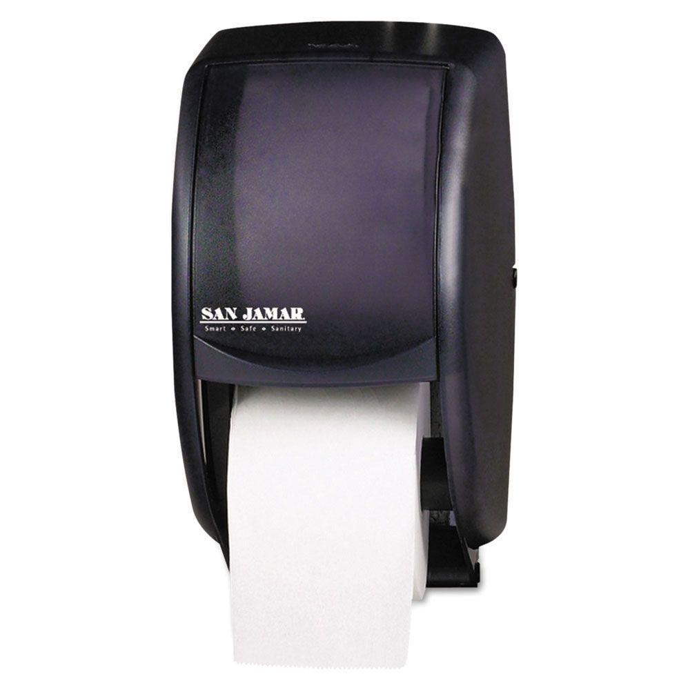 San Jamar 2-Roll Toilet Tissue Dispenser