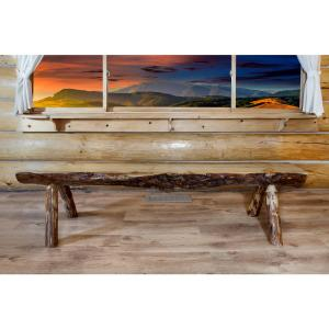 Admirable Montana Woodworks Glacier Country Puritan Pine Bench Gamerscity Chair Design For Home Gamerscityorg