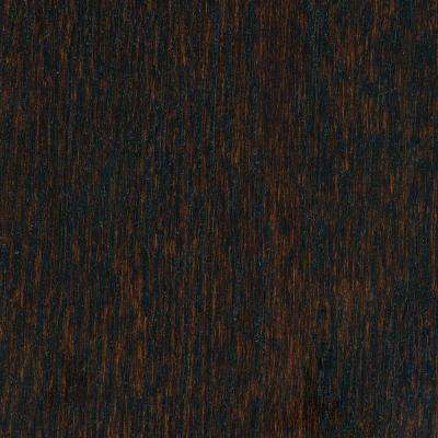 Take Home Sample - Wire Brushed Oak Coffee HDF Hardwood Flooring - 5 in. x 7 in.