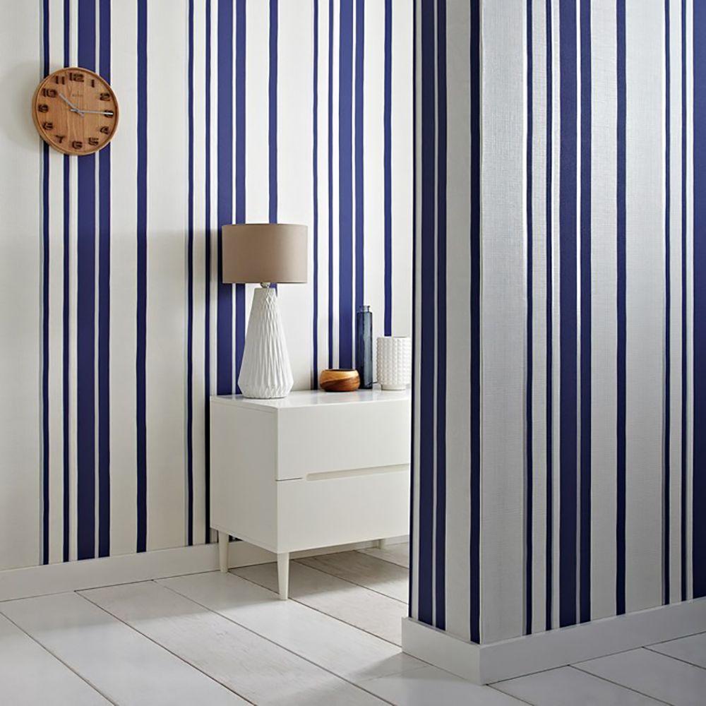 Hoppen Stripe Wallpaper