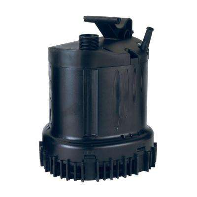 2100-GPH Submersible Waterfall/Utility Pump