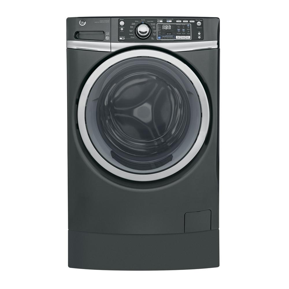 4.9 cu. ft. High-Efficiency Stackable Diamond Gray Front Loading Washing Machine