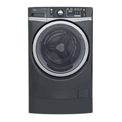 4.9 cu. ft. High-Efficiency Diamond Gray Front Loading Washing Machine with RightHeight Design, ENERGY STAR