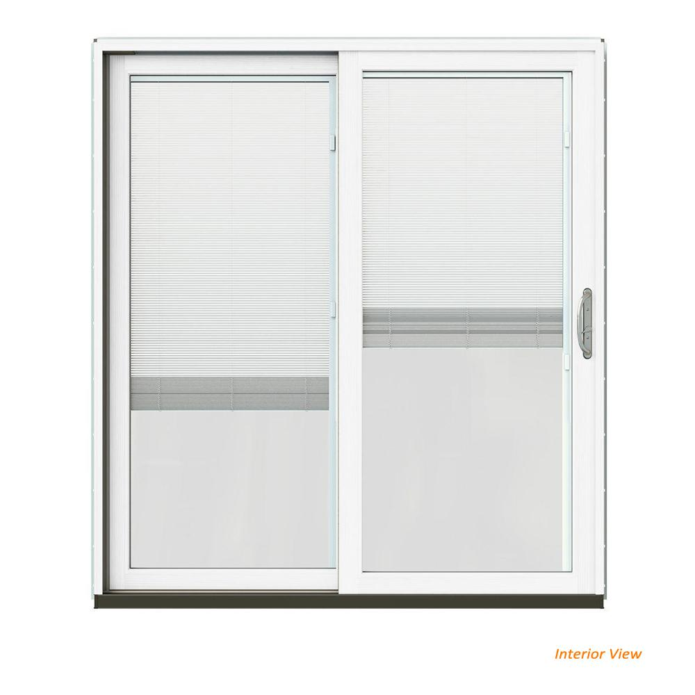 Jeld Wen 72 In X 80 In W 2500 Contemporary White Clad
