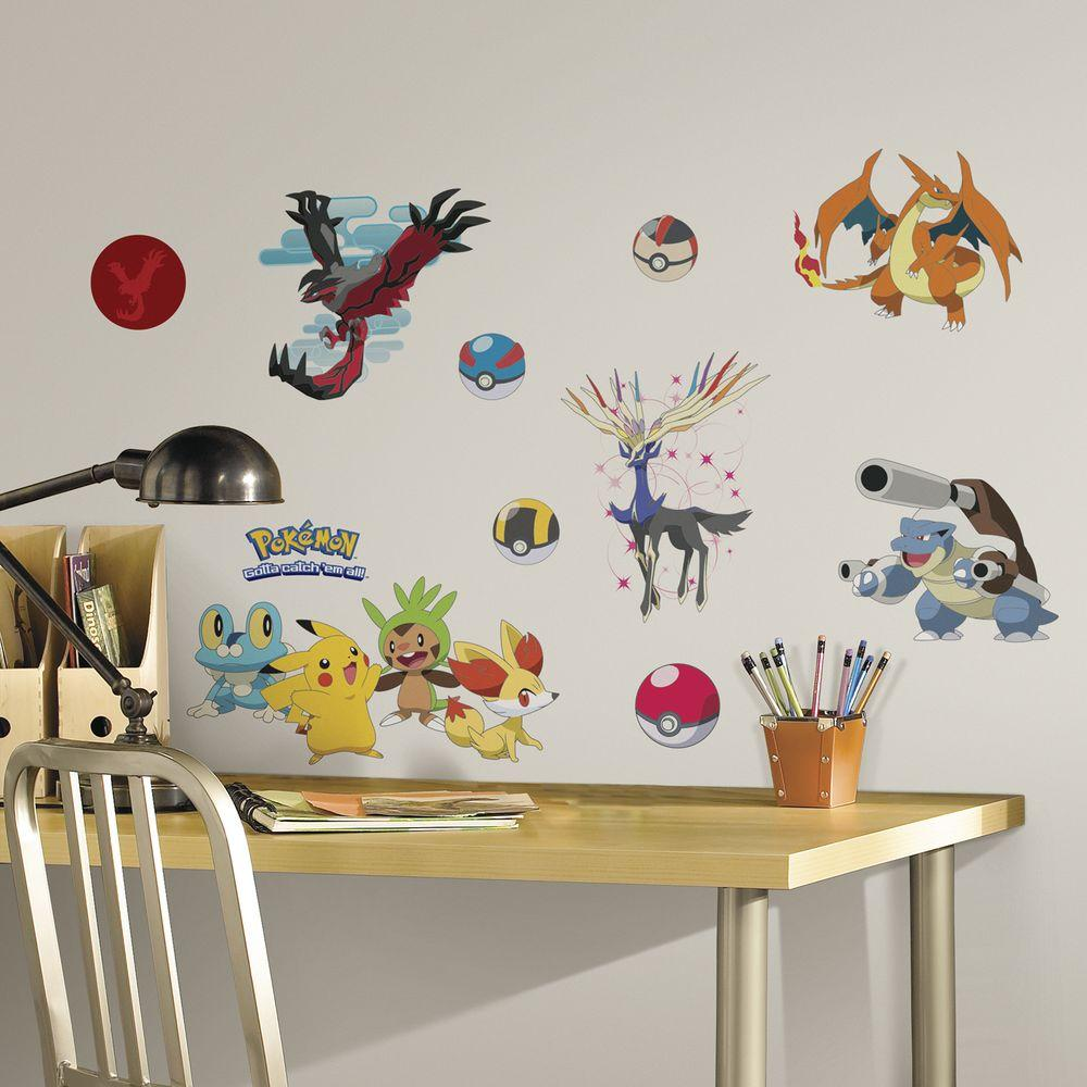Pokemon Xy L And Stick Wall Decal
