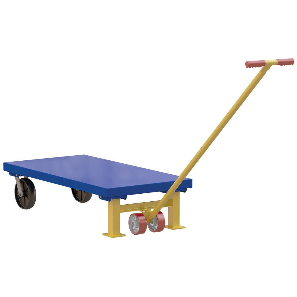 24 in. x 48 in. Semi-Live Steel Skid Legs and Lever