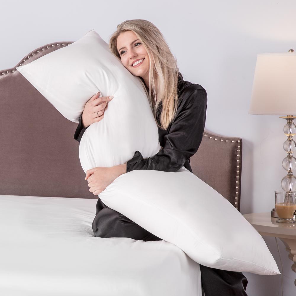 Sensational Biopedic Body Hypoallergenic Down Alternative Body Pillow Andrewgaddart Wooden Chair Designs For Living Room Andrewgaddartcom