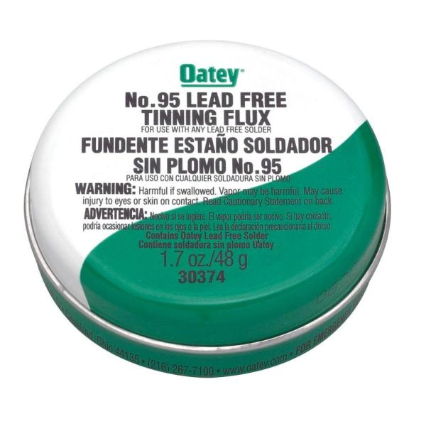 1.7 oz. Lead-Free Solder Tinning Flux Paste