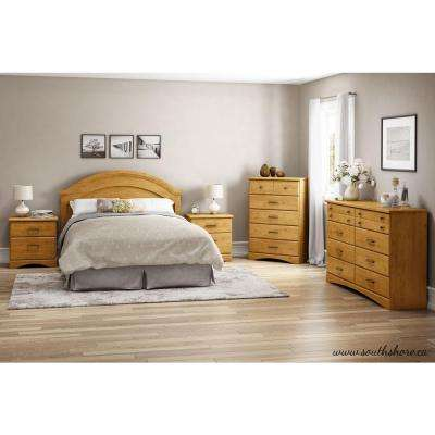 Cabana 8-Drawer Country Pine Dresser