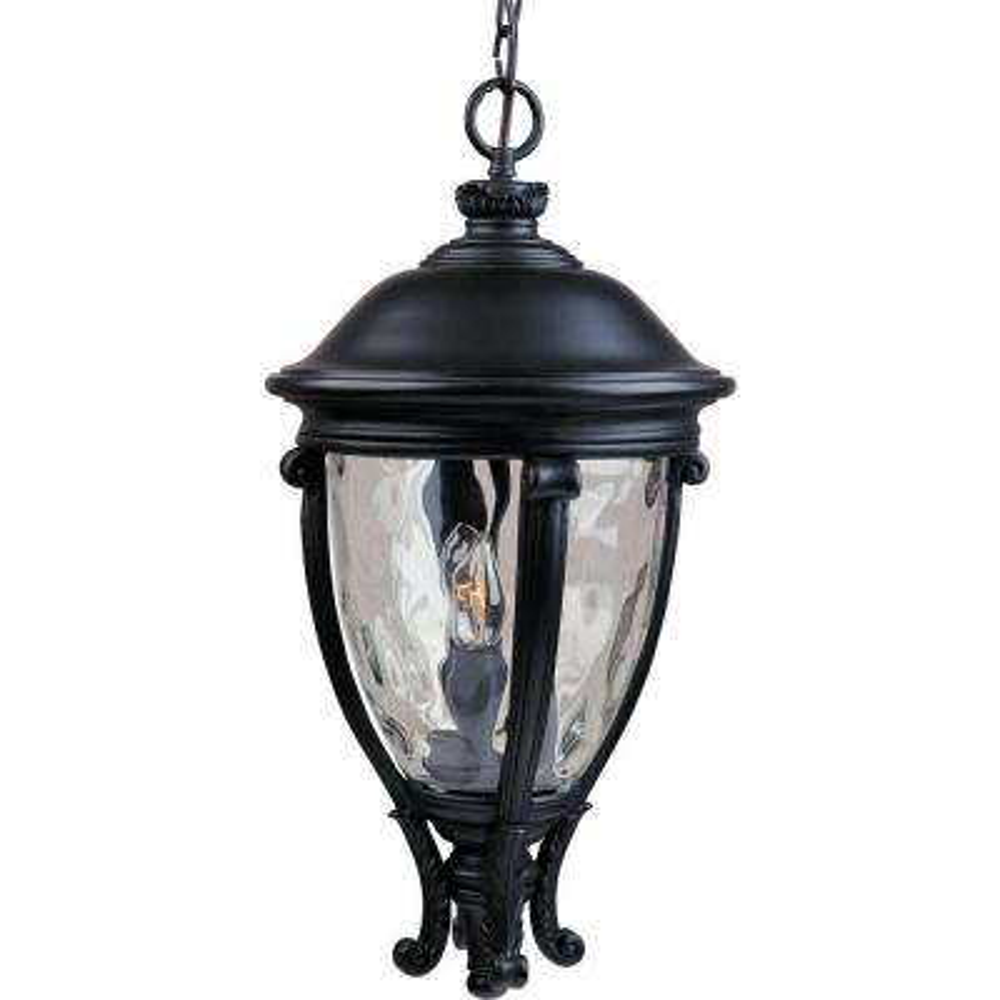 Camden VX 3-Light Black Outdoor Hanging Lantern