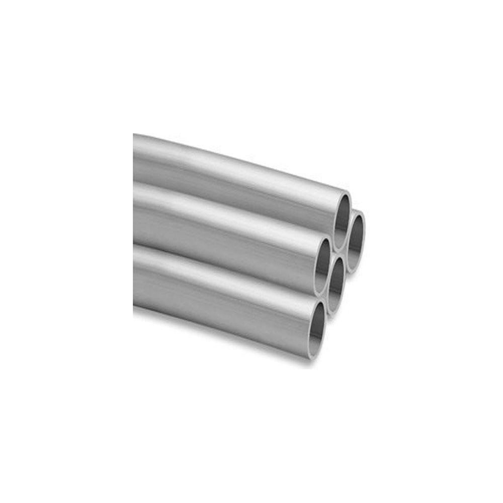 8 ft. 1 in. L IPS Sch. 40 Aluminum Pipe-50-A100ID/8 - The Home Depot