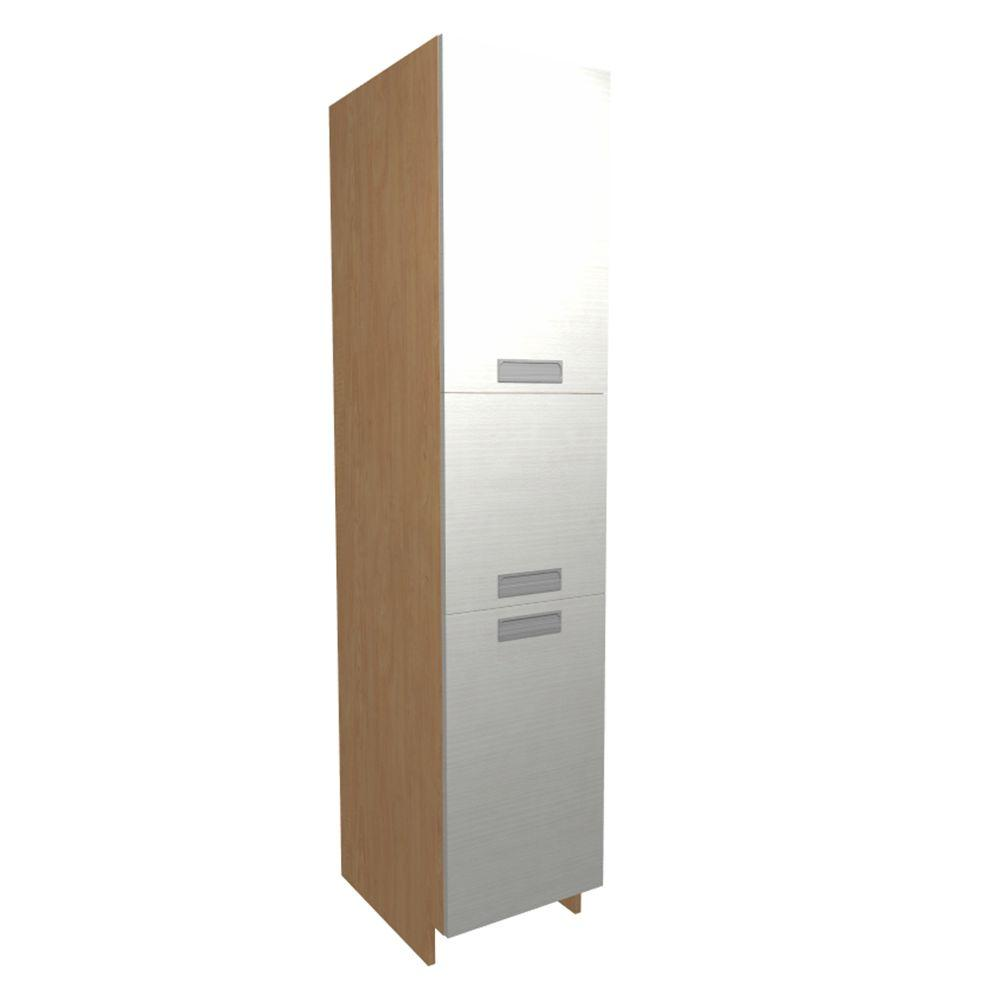 Pantry Utility Cabinet White Melamine Product Picture