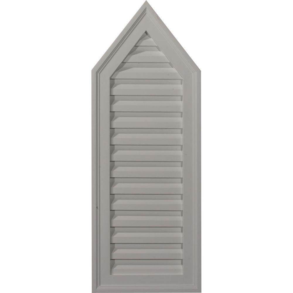 1-3/4 in. x 12 in. x 32 in. Decorative Peaked Gable