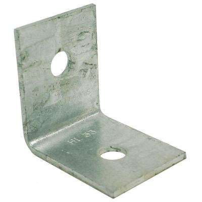 Hot-Dip 3 in. x 3 in. 7-Gauge Galvanized Heavy Angle