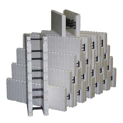 8 in. Concrete Core 84 lb. 60 in. H x 13.3 ft. L x 12 in. W Insulated Concrete Forms (Bundle of 20)