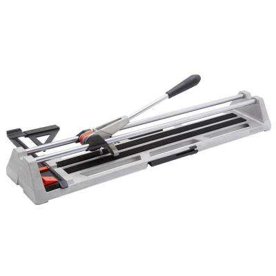 POP 25 in. Tile Cutter with Guide and Storage Case